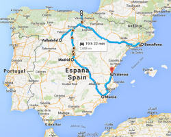 CABANDELA TOUR – Dogs headed to SPAIN